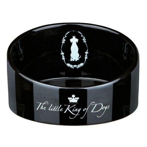 King of Dogs keramická miska zkosená 1 l/18 cm