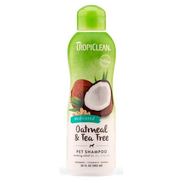 Tropiclean Oatmeal Šampon pro psy uklidňující 590 ml