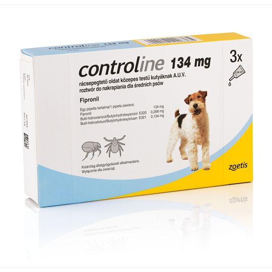 Controline M Antiparazitní pipeta pro psy 10-20 kg 1,34 ml, 3 ks