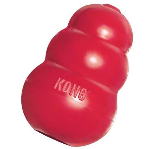 Kong Classic gumová plnitelná interaktivní hračka pro psy červená - S