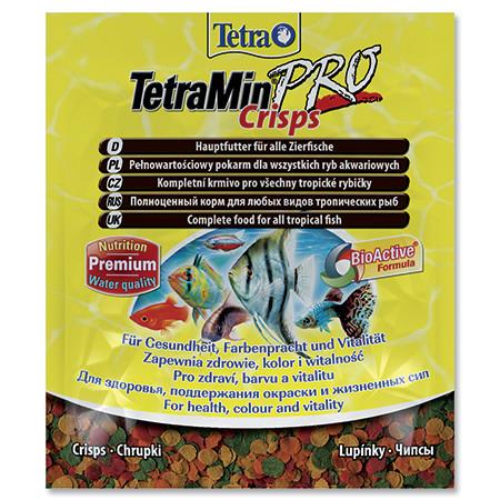 Tetra Min Crisps krmivo pro vyšší odolnost ryb sáček 12 g