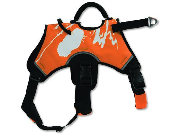 Zolux Tažný postroj pro psy oranžový - M