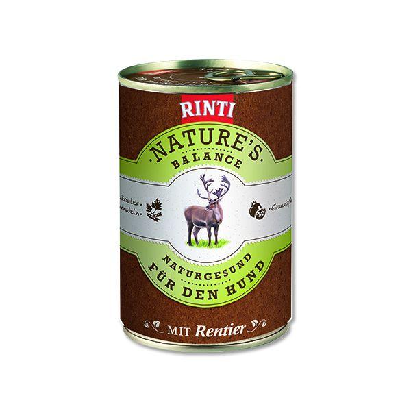 Rinti Nature's Balance sob & těstoviny & vejce pro psy 400 g