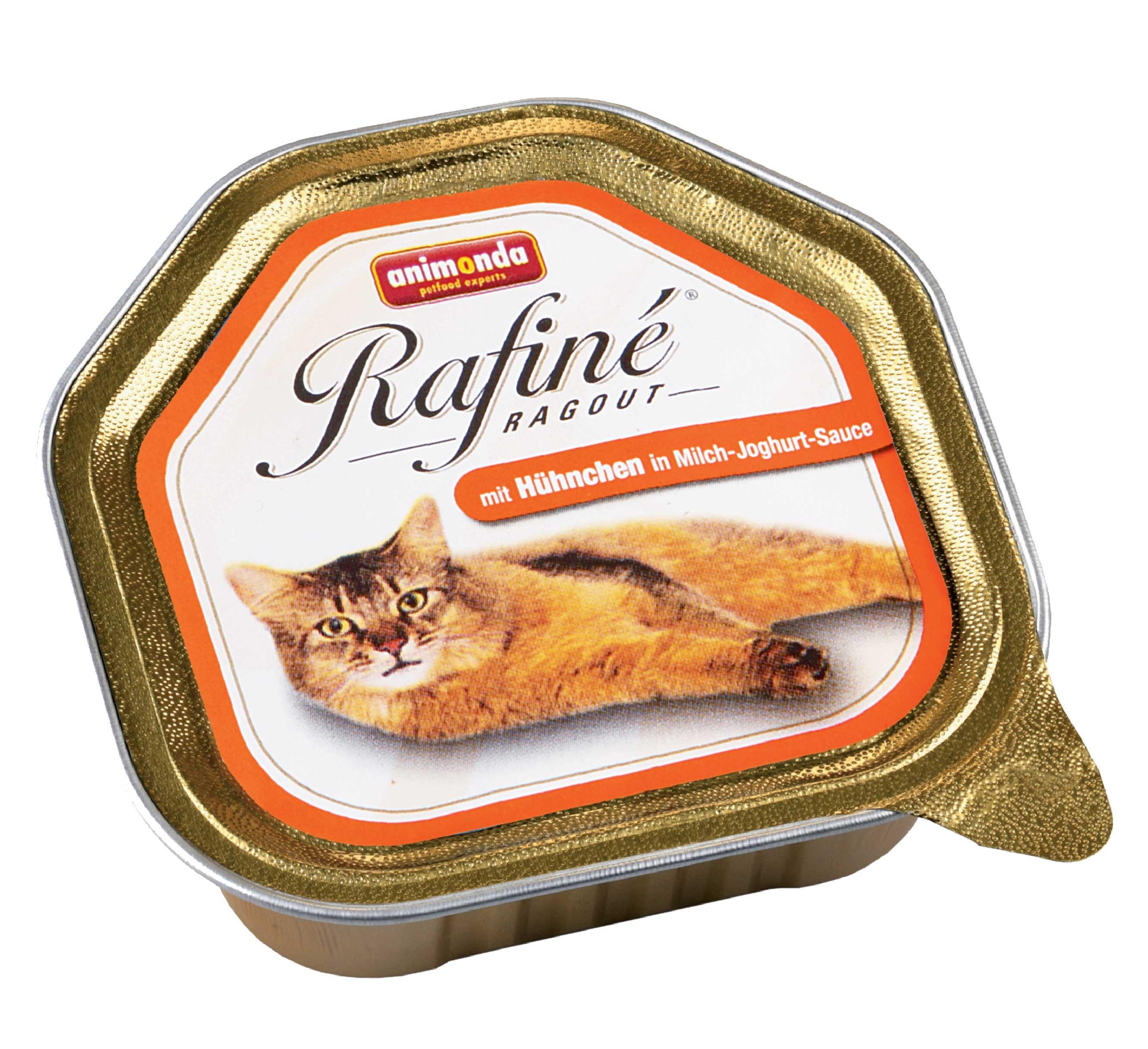 Animonda paštika Rafiné Ragout kuře s jogurtovou omáčkou 100 g
