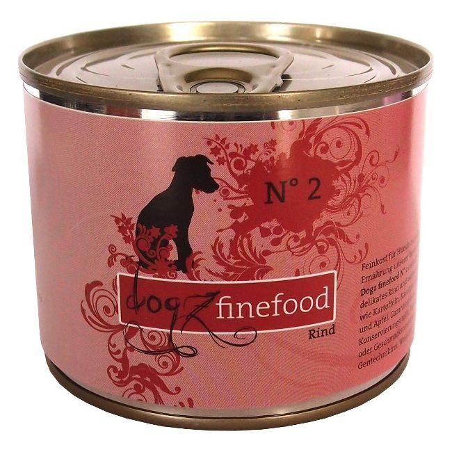 Dogz Finefood No.2 - hovězí pro psy