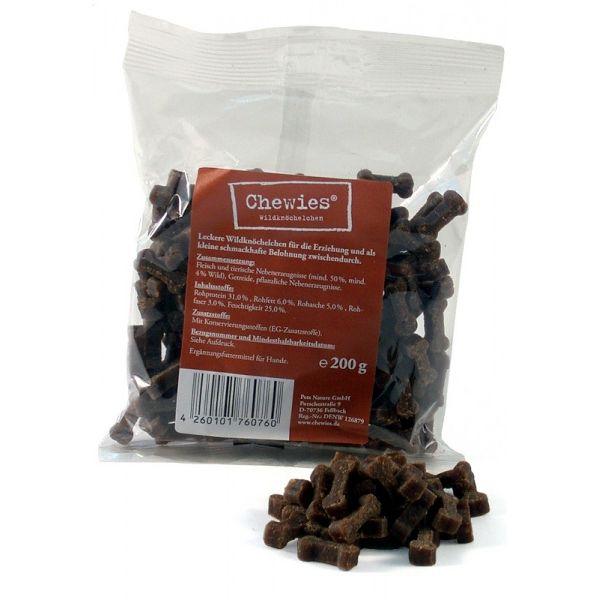 Chewies sušené zvěřinové kostičky pro psy 200 g