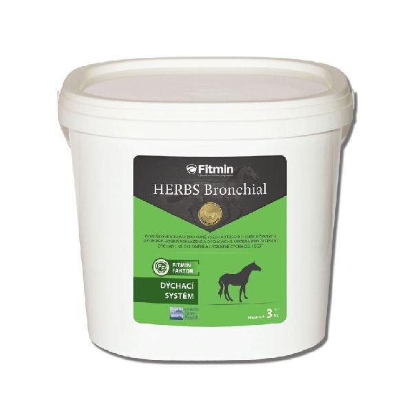 Fitmin Herbs Bronchial pro zlepšení dýchání koní 3 kg