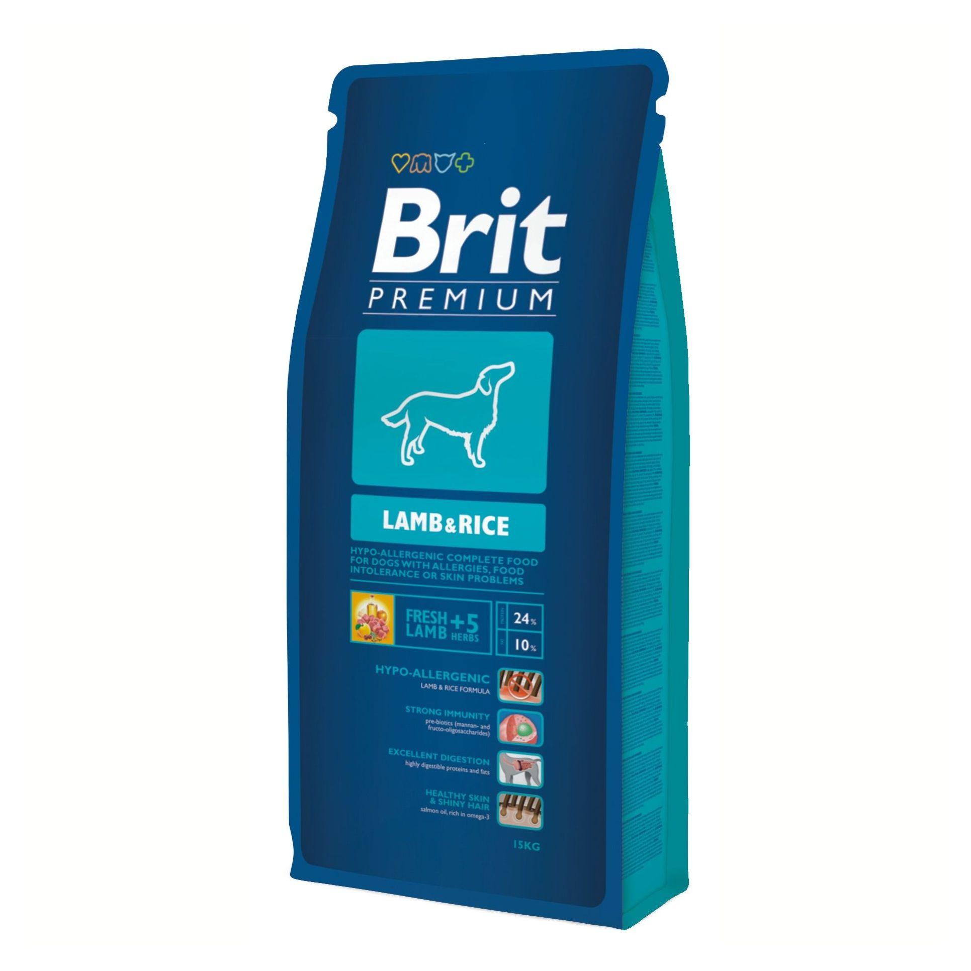 Brit Premium Lamb & rice 15 kg