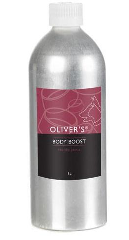 Oliver's Body Boost - doplněk stravy s vysokým obsahem chondroitinu a MSM pro psy a kočky 250 ml