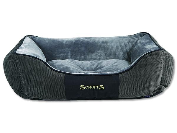 Scruffs Chester Box Bed Pelíšek šedý - XL, 90x70 cm