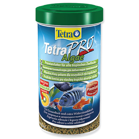 Tetra Pro Algae krmivo se Spirulinou pro ryby 500 ml