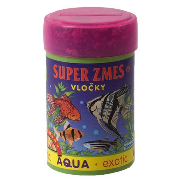 Aqua Exotic supersměs vločkové krmivo 50 ml