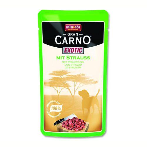 Animonda Gran Carno Exotic - pštrosí 125 g