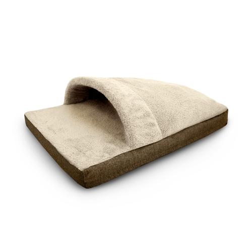 Pelech pro psa Argi - spací pytel - hnědý / béžový - 70 x 50 cm