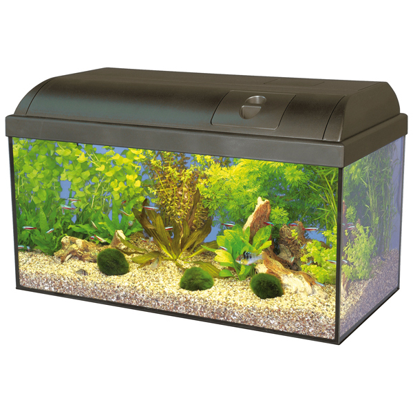 Hagen Marina Basic akvárium set 60x30x30 cm, objem 54 l
