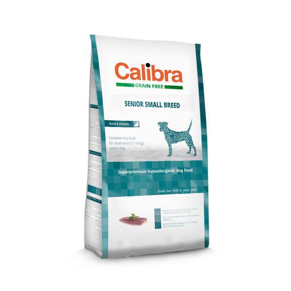 Calibra Dog GF Senior Small Breed Duck