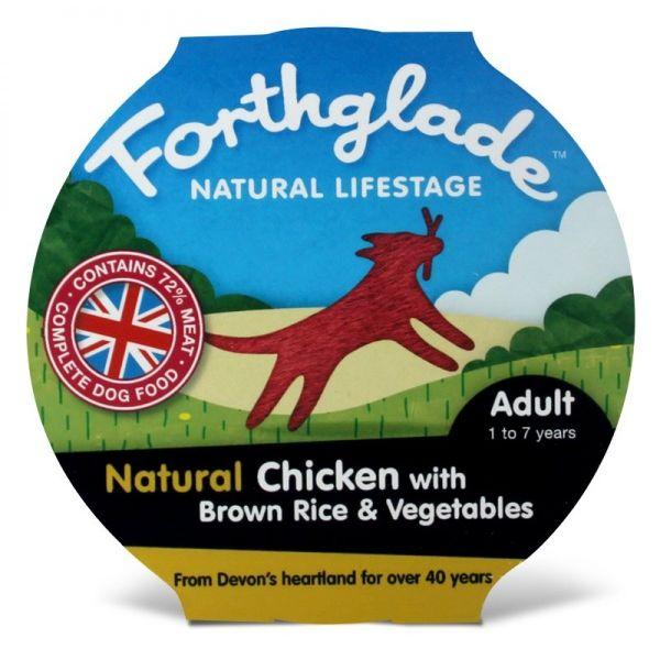 Forthglade Natural Lifestage Adult - kuře & hnědá rýže & zelenina