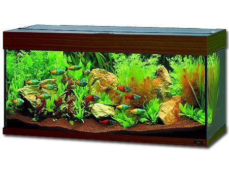 Juwel Rio 180 akvárium set tmavě hnědý 101x41x50 cm, objem 125 l