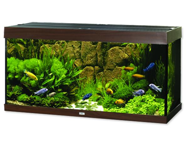 Juwel Rio 300 akvárium set tmavě hnědý 121x51x66 cm, objem 300 l