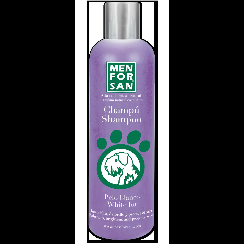 Menforsan Šampon pro psy pro zesvětlení bílé srsti