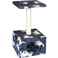 Tommi Carmen Škrábadlo pro kočky modré, 30x30x57 cm