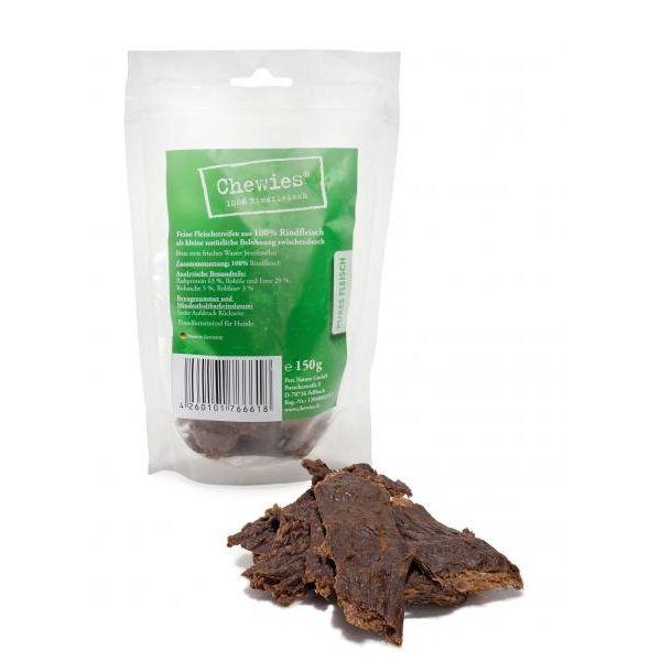 Chewies sušené hovězí plátky pro psy 150 g