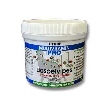 Fitmin Pro Multivitamin - pro dospělé psy v prášku