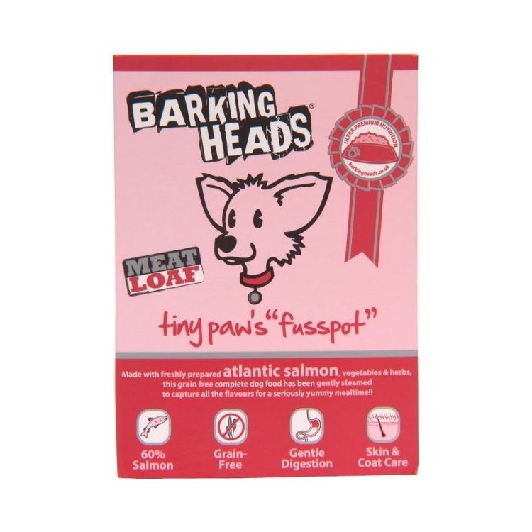 Barking Heads Tiny Paws Fusspot - van. losos vybír. psy mal. plemen 150 g