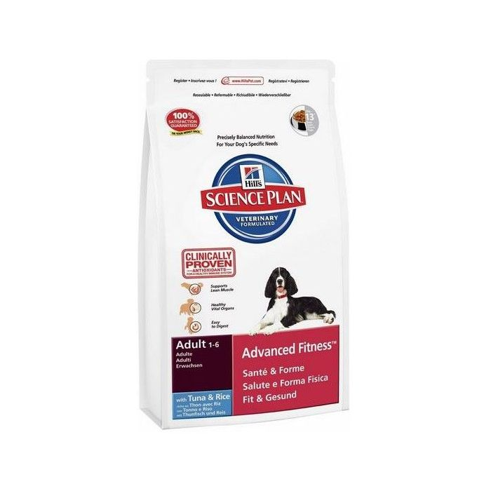 Hill's Science Plan Canine Dry Adult Tuna & Rice 12 kg