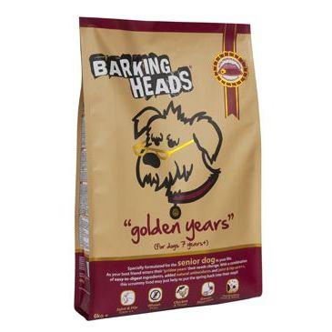 Barking Heads Golden Years 6 kg