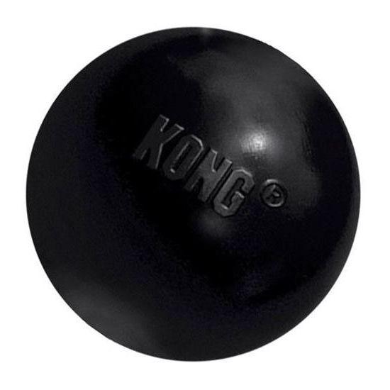 Kong Míč superodolný pro psy černý - M/L