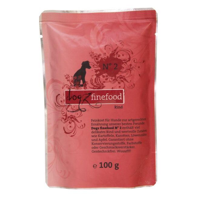 Dogz Finefood No.2 Kapsička - hovězí 100 g