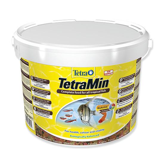 Tetra Min vločkové krmivo pro ryby 10 l