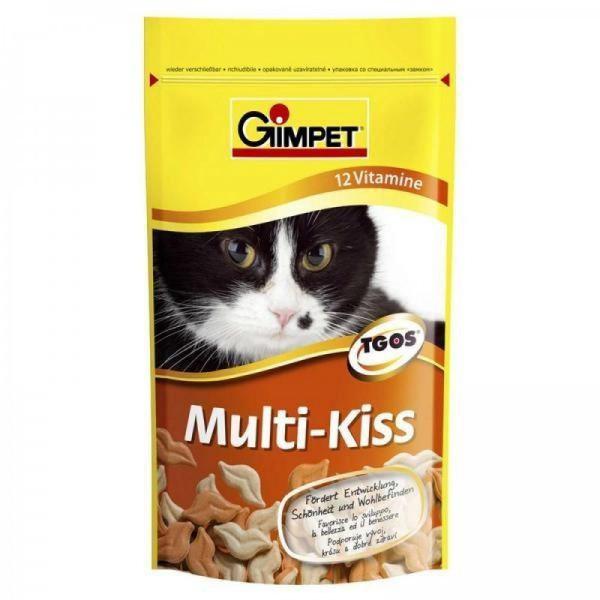 Gimpet Multi-Kiss Pusinky s vitamíny - pochoutka pro kočky 50 g