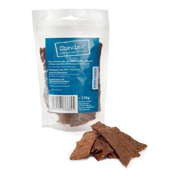 Chewies sušené drůbeží plátky pro psy 150 g