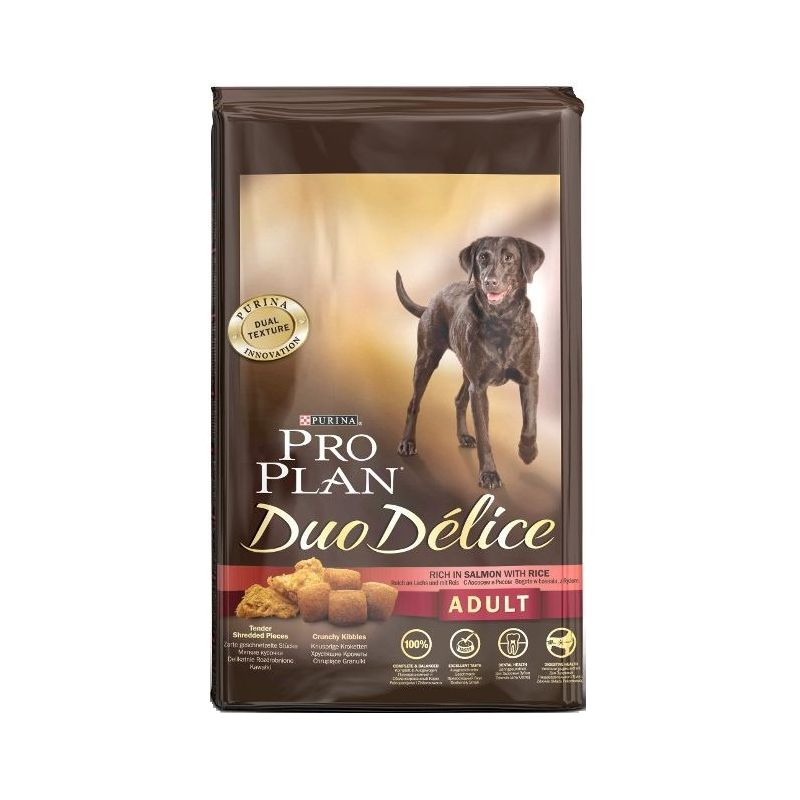 Pro Plan Dog Adult Duo Délice Salmon