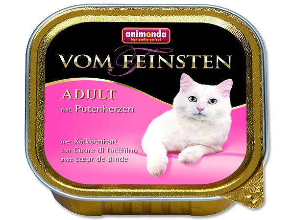 Animonda Vom Feinsten - drůbeží srdce pro dospělé kočky 100 g