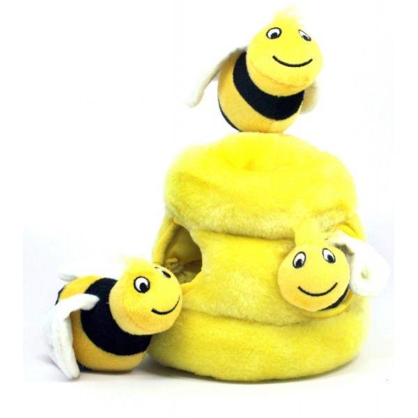 Kyjen Puzzle - plyšové včelky - 16 cm