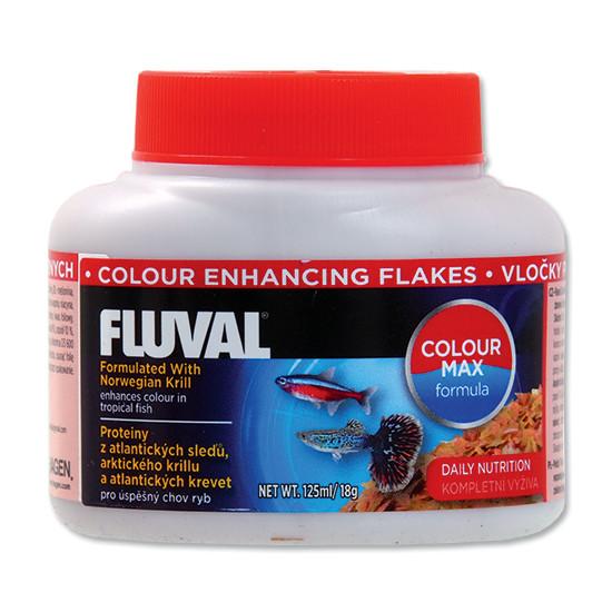 Hagen Fluval Color Enhancing Flakes vločkové krmivo pro intenzivní zbarvení ryb 125 ml