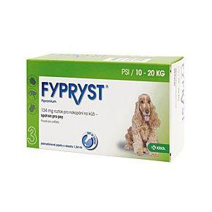 Fypryst Antiparazitní pipeta pro psy 10-20 kg 1,34 ml, 3 ks