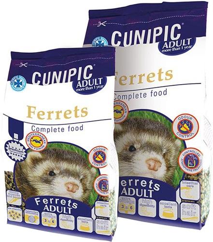 Cunipic Ferrets Adult Krmivo pro dospělé fretky 2 kg