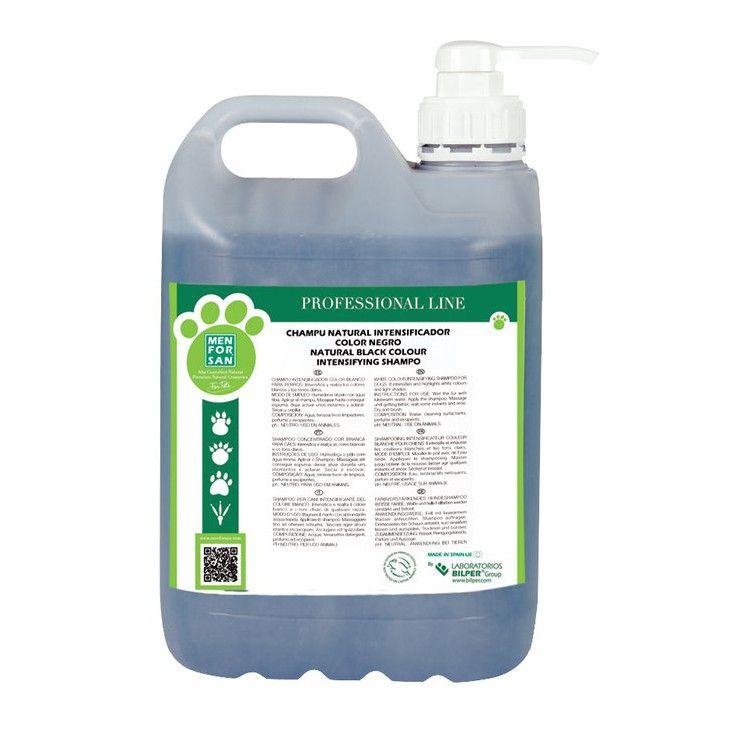 Menforsan Šampon pro psy zvýrazňující černou barvu 5000 ml