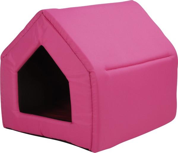 Bouda pro psy a kočky Argi - růžová - 43 x 49 x 43 cm