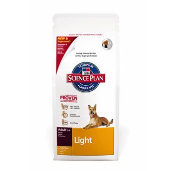 Hill's Science Plan Canine Dry Adult Light 3 kg