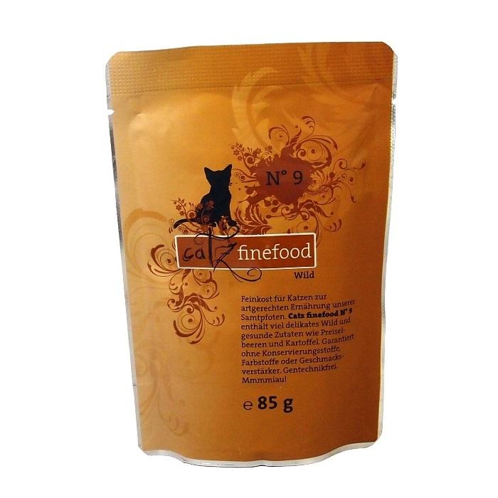 Catz Finefood No.9 - zvěřina pro kočky 85 g