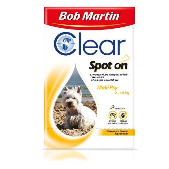 Bob Martin Clear Spot on Dog M 134mg 1x 1,34ml