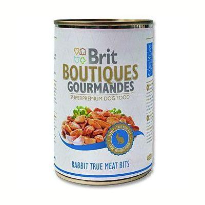 Brit Boutiques Gourmandes Rabbit True Meat Bits 400 g
