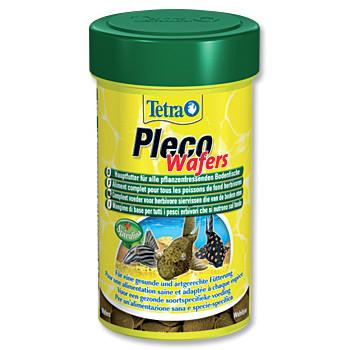 Tetra Pleco Wafer plátky krmiva pro býložravé sumečky 100 ml