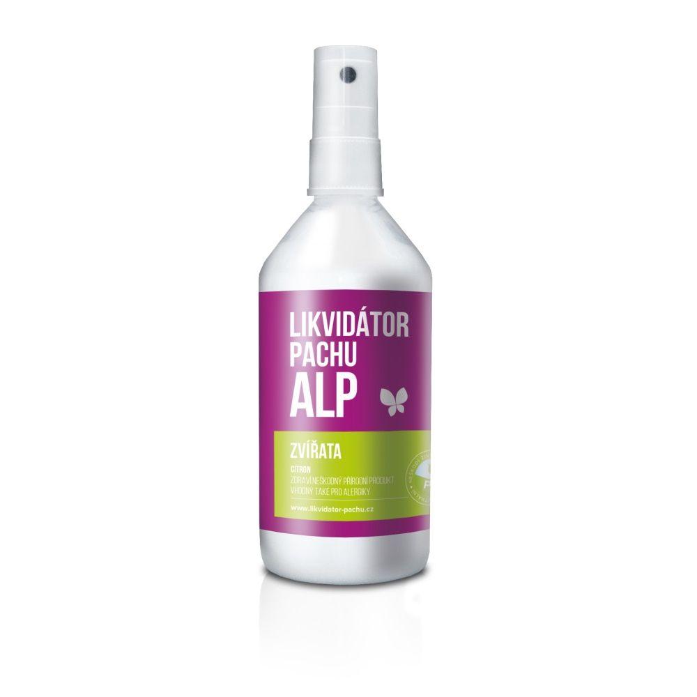 Alp Likvidátor pachu Zvířata - citron sprej 215 ml