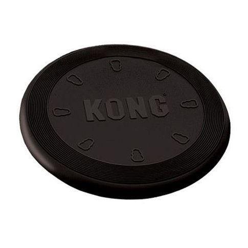 Létající talíř Kong odolný pružný pro psy černý large
